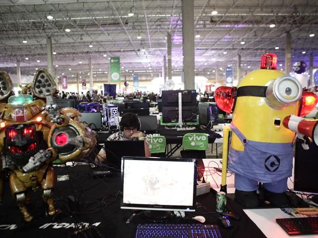 Campus Party 2015 (Foto: Caio Kenji/G1)
