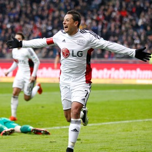 Chicharito Bayer Leverkusen (Foto: AP)