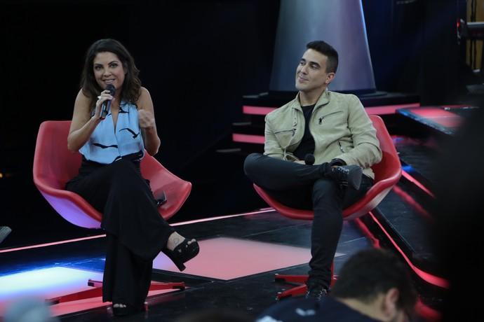 Thalita Rebouças e André Marques são as novidades da nova temporada do 'The Voice Kids' (Foto: Isabella Pinheiro/Gshow)