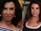 Aos 65 anos, Cláudia Alencar chama atenção com rosto rejuvenescido
