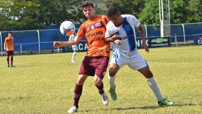 Campeonato Capixaba Sub-20 2014: Vitória-ES x Desportiva Ferroviária (Foto: Henrique Montovanelli/Desportiva Ferroviária)
