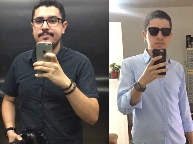 Tiago Teles perdeu 15 quilos em três meses com dieta low carb  (Foto: Arquivo pessoal)