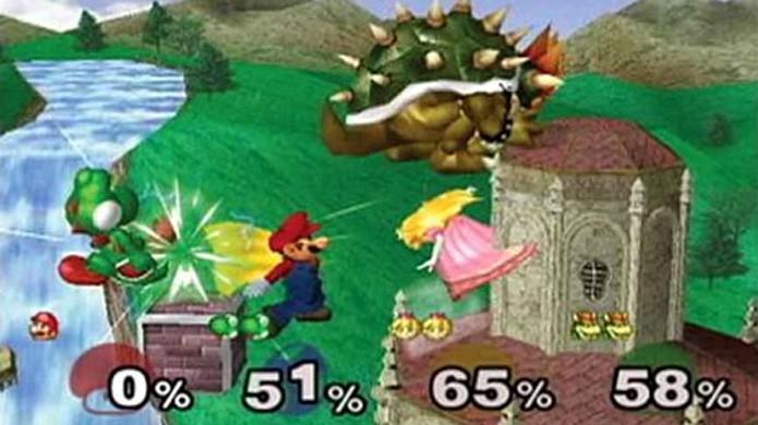 Super Smash Bros. Melee mostrou personagens da Nintendo lutando como nunca antes (Foto: Reprodução/Nintendo Wiki)