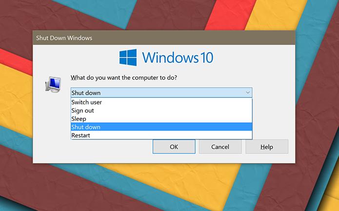 Forma coimo usuário desliga o Windows pode afetar consumo de energia e velocidade de inicialização (Foto: Reprodução/Elson de Souza)
