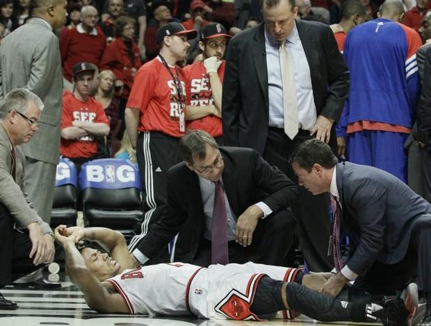 NBA basquete Derrick Rose Chicago Bulls (Foto: AP)