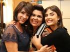 Fabiana Karla e Maria Casadevall fazem 'bagunça boa' antes de gravação