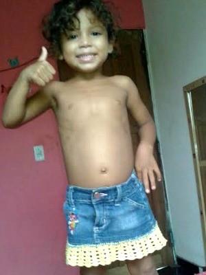 Rayane tinha 3 anos (Foto: Polícia Civil/Divulgação)