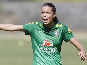 Ana Vitória, jogadora revelada pelo Rondonópolis (Foto: Rafael Ribeiro / CBF)