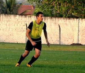Reginaldo é um dos reforços para o Guaraí (Foto: Divulgação/TV Lobão)