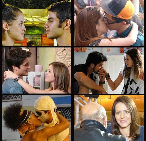 Quer saber o que vai rolar com esses casais? Se liga na entrevista com as autoras (Foto: Malhação / Tv Globo)