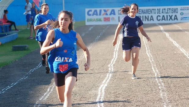 'I Atletismo Caixa Kids' tem por propósito básico a integração entre as escolas  (Foto: Divulgação/ RPC)