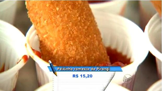 Molho para peixe é opção inusitada para melhorar prato (Foto: Reprodução EPTV)