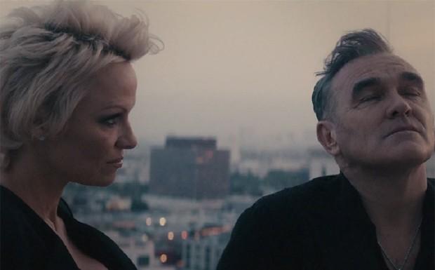 Pamela Anderson e Morrissey (Foto: Divulgao)
