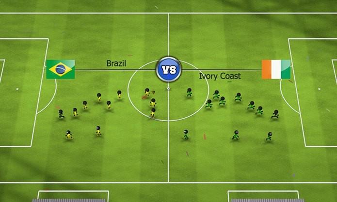 Game com visual simples, mas muitos modos e campeonatos (Foto: Divulgação)