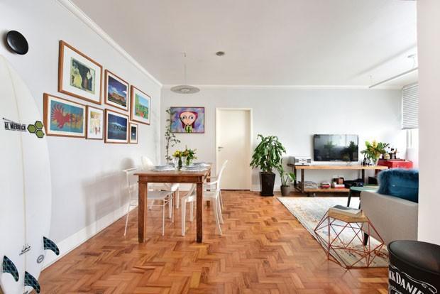 Sala integrada 14 ideias para unir ambientes casa vogue for Mobilia anos 60