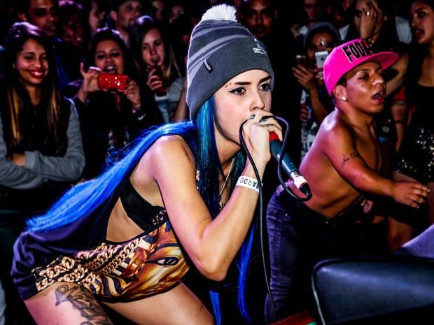 Tati Zaqui em show em São Paulo (Foto: Marcos Ribas/ Foto Rio News)