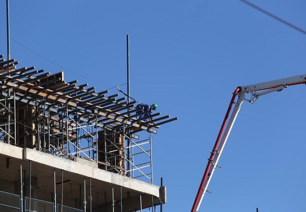 construção civil, imóveis, emprego (Foto: Dênio Simões/ Agência Brasília)