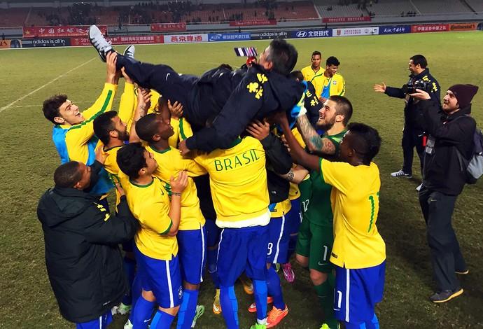 Brasil x China - sub 21 (Foto: Divulgação)