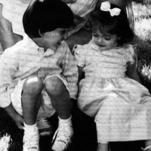 Os irmãos Luca e Isabella, filhos do jogador Kaká e Carol Celico (Foto: Reprodução/Instagram)