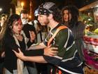 FOTOS: Manifestação contra Cabral tem confronto no Rio