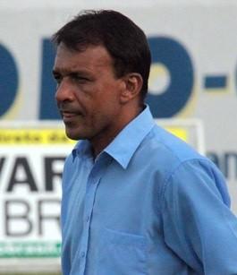 Ferreira, técnico do Guarny de Porto da Folha (Foto: José Nazal)