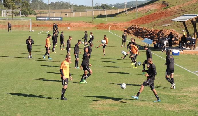 Criciúma treino CT (Foto: João Lucas Cardoso)