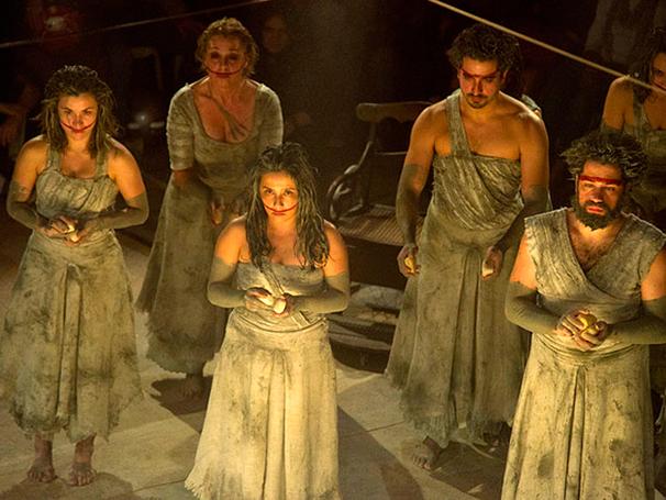 """Cena da peça """"Prometheus - A Tragédia do Fogo"""" (Foto: divulgação)"""