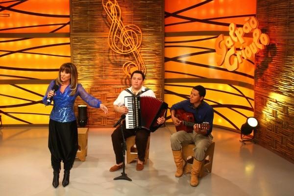 Galpão Crioulo deu início aos festejos farroupilhas no programa (Foto: Verônica De Giacomo/RBS TV)