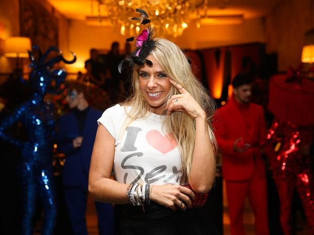 Adriane Galisteu em festa em São Paulo (Foto: Manuela Scarpa e Marcos Ribas/ Brazil News)