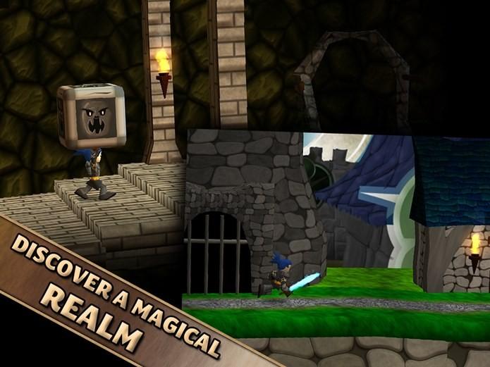 Game com jogabilidade 2D e gráficos em 3D (Foto: Divulgação)