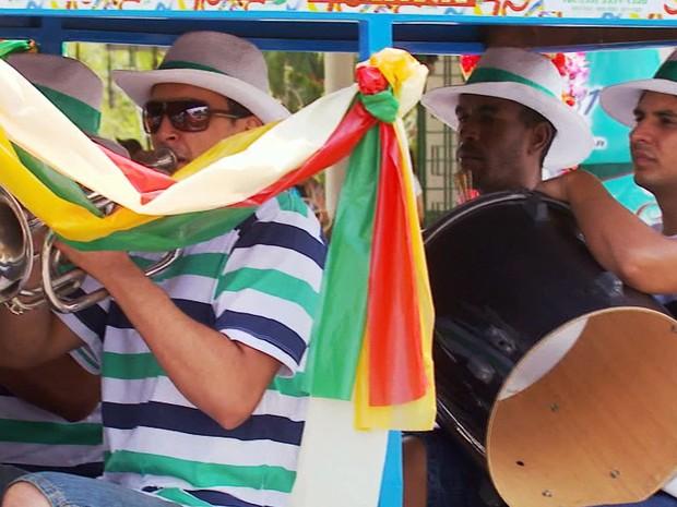 Carnaval tradicional de São Lourenço é refúgio de cariocas em MG (Foto: Reprodução EPTV / Tarciso Silva)