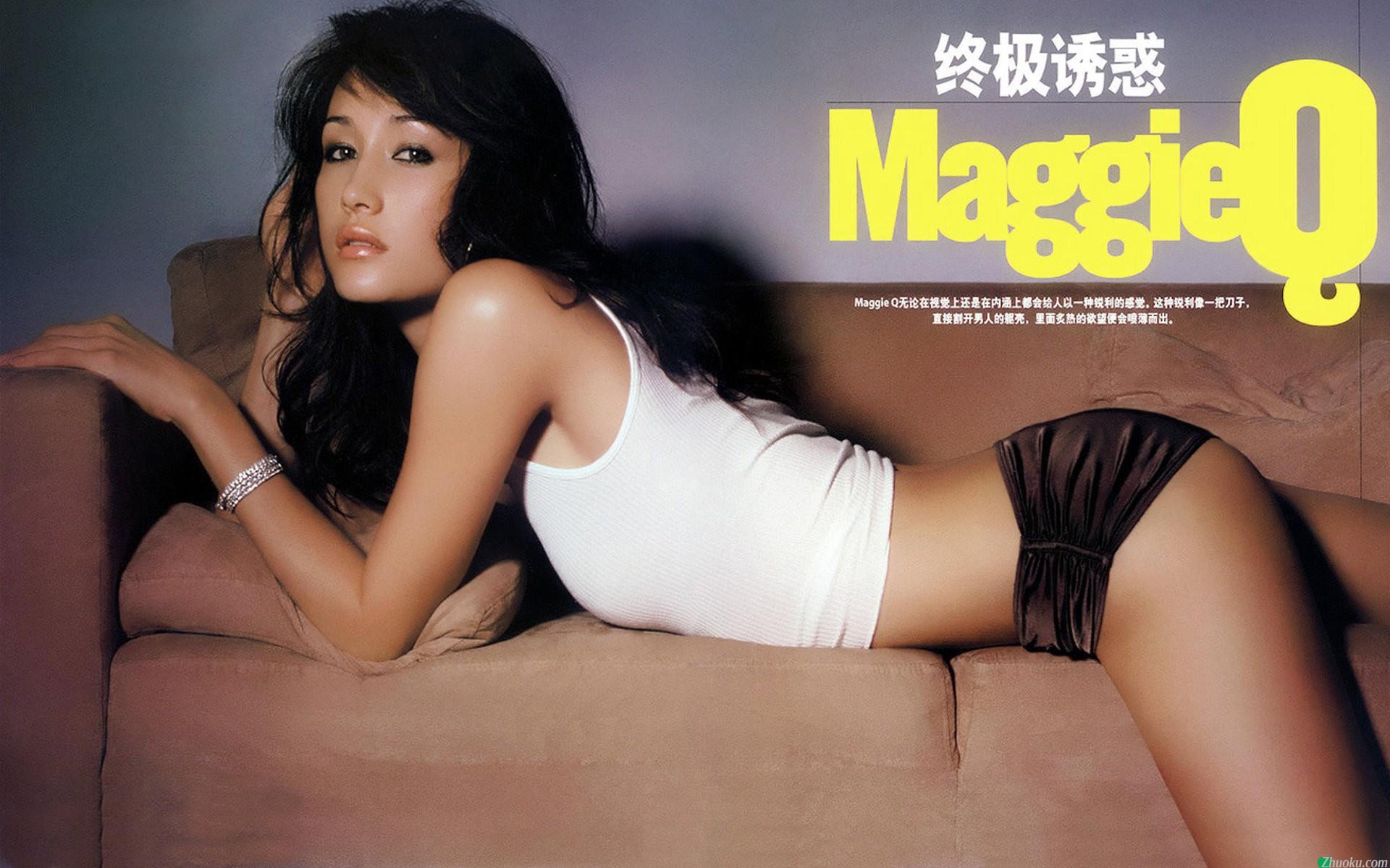 Maggie Q quando ainda trabalhava em Hong Kong. (Foto: Divulgação)