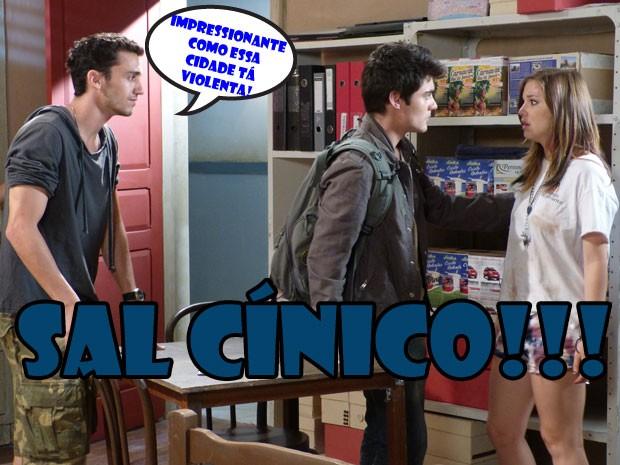 ARRRRRGGGGHHHH! Dá mta raiva ver a Lia chorando e o Sal se achando, né? (Foto: Malhação / Tv Globo)