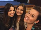 'Irmã gêmea', diz Camila Queiroz sobre semelhança com Sthefany Brito