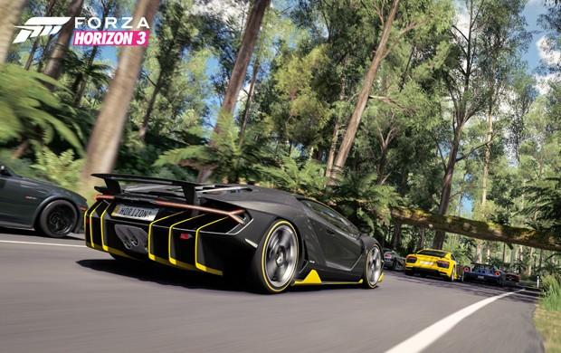 'Forza Horizon 3' leva game de corrida em mundo aberto para a Austrália (Foto: Divulgação/Microsoft)