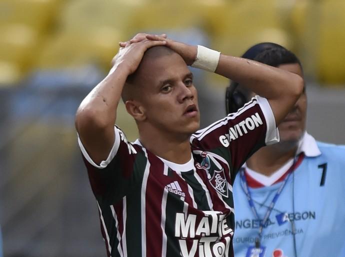 Marcos Júnior Fluminense (Foto: André Durão / GloboEsporte.com)