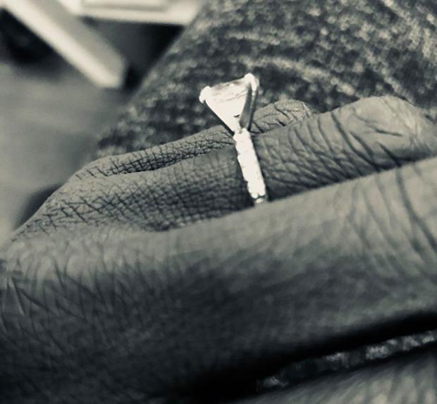 Rutina Wesley mostra anel de noivado (Foto: Reprodução/Instagram)