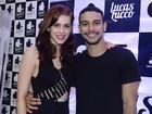 Sophia Abrahão e Sergio Malheiros vão a show de Lucas Lucco