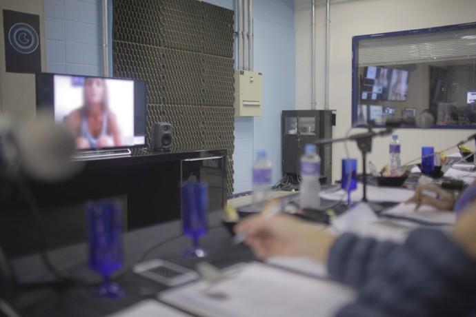 Selecionados puderam conversar com a produção diretamente de suas casas (Foto: Gshow)