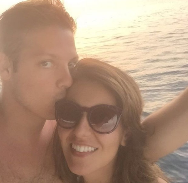 Nataly Mega e Fábio Porchat (Foto: Reprodução/Instagram)