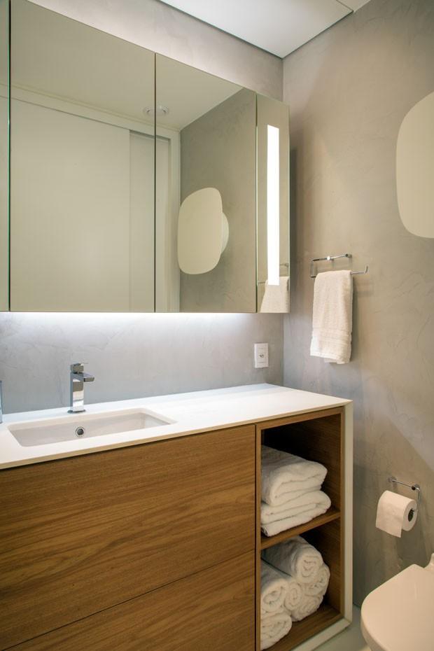 Reforma dá vida nova a apartamento após incêndio (Foto: André Nazareth)