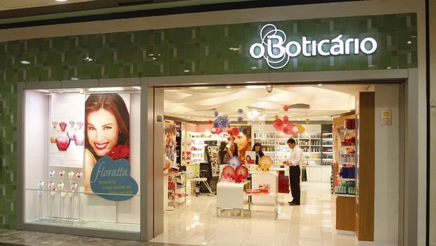 Loja da rede O Boticário (Foto: Divulgação)