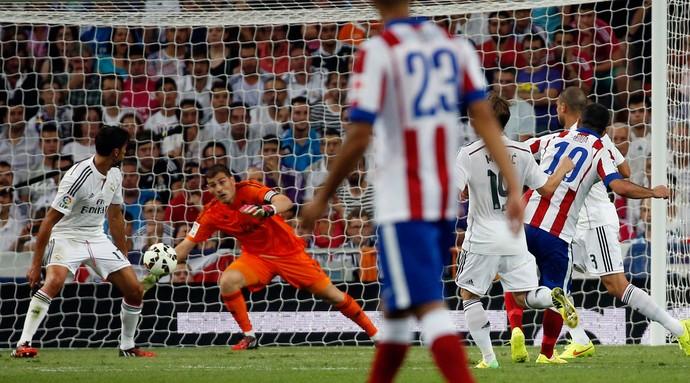 turan real madrid x atletico madrid (Foto: Reuters)