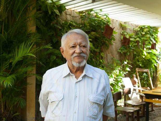 Sérvulo Esmeraldo morreu aos 87 anos (Foto: Helosa Araújo/ Agência Diário)