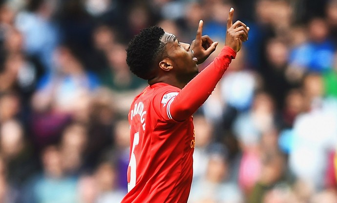 Sturridge Newcastle x Liverpool (Foto: Getty Images)