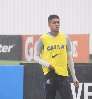 Matheus Pereira, Corinthians (Foto: Marcelo Braga)