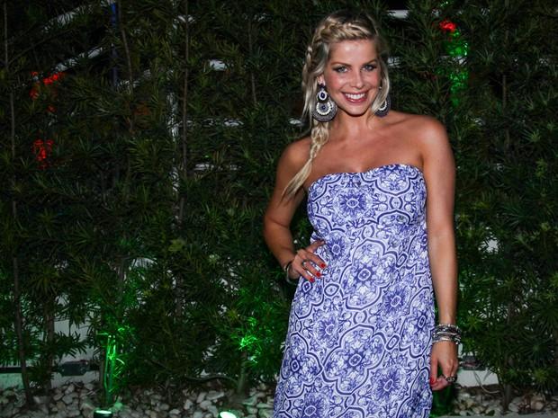 Karina Bacchi em festa em São Paulo (Foto: Manuela Scarpa/ Foto Rio News)