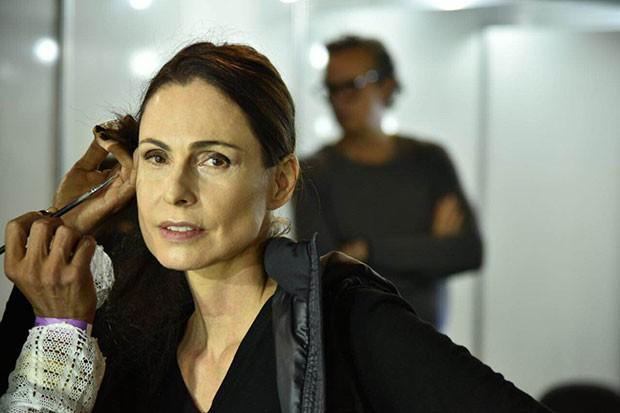 Silvia Pfeifer no Rio Moda Rio (Foto: Andr Bittencourt)