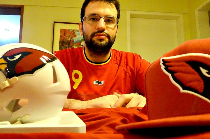 Marcello Burle futebol americano (Foto: Maurício Penedo)
