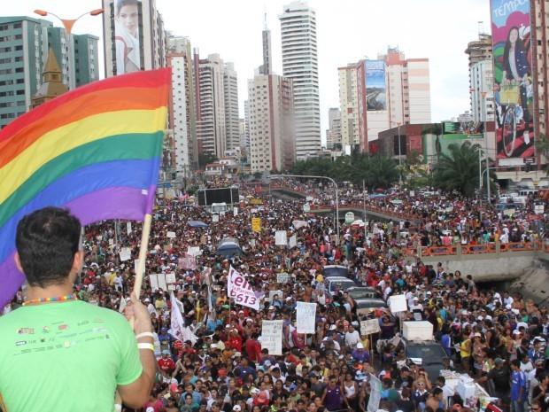 Parada Gay de Belém chega a reunir mais de um milhão de pessoas. (Foto: Ary Sousa/ O Liberal)